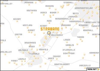 map of Strabane