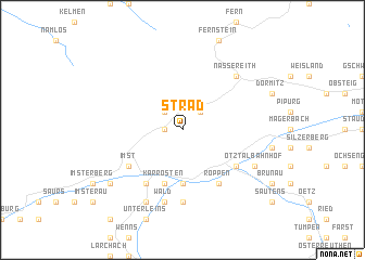 map of Strad