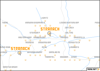 map of Stranach