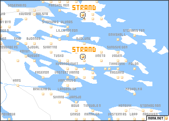 map of Strand