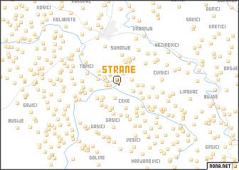 map of Strane