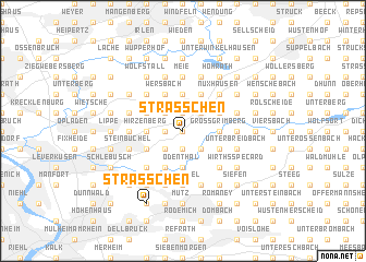 map of Sträßchen