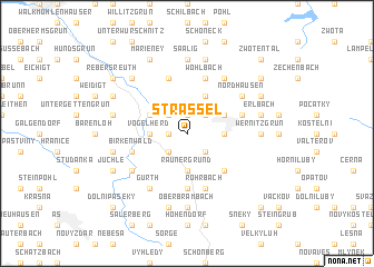 map of Strässel