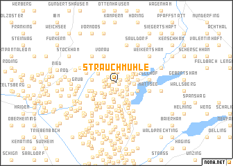 map of Strauchmühle