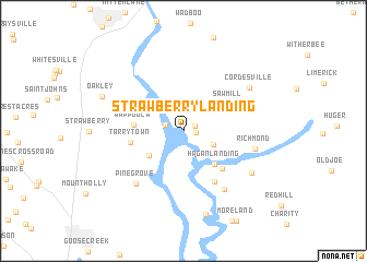 map of Strawberry Landing