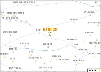 map of Strazh