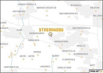 map of Streamwood