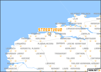map of Stréatveur