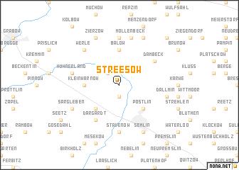 map of Streesow