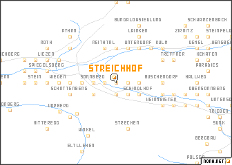 map of Streichhof