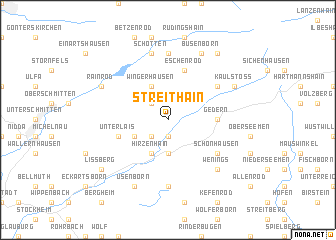 map of Streithain