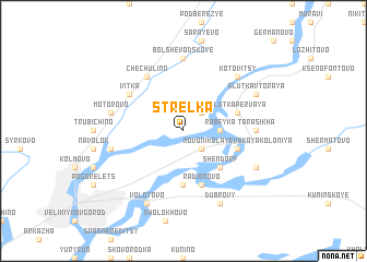 map of Strelka