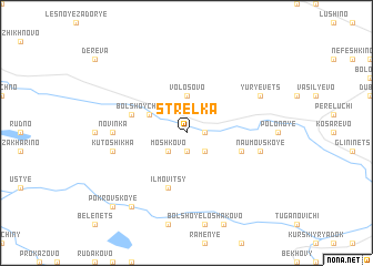 map of Strelka