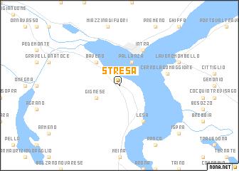 Stresa Italy Map Nona Net