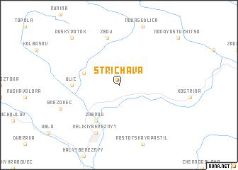 map of Strichava