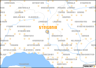 map of Striganiá