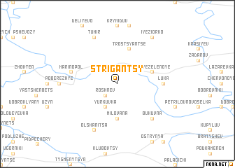 map of Strigantsy