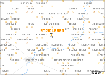 map of Strigleben