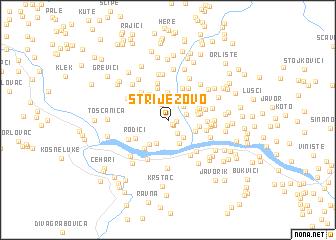 map of Striježovo