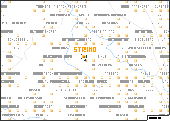 map of Strimo