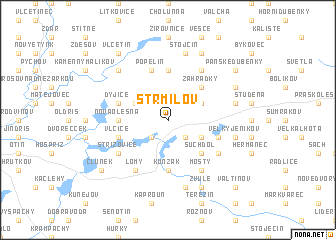 map of Strmilov