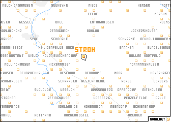 map of Stroh