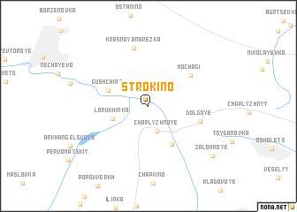 map of Strokino