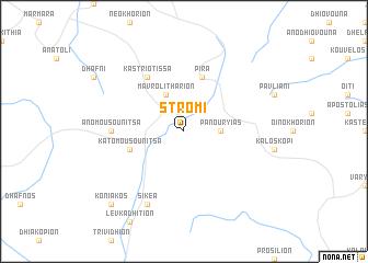 map of Strómi