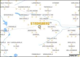map of Strömsberg