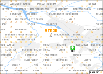 map of Strom