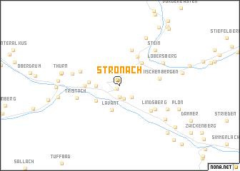map of Stronach