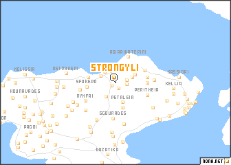 map of Strongylí