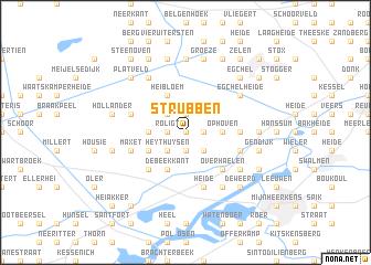 map of Strubben