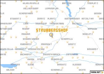 map of Strubbergshof