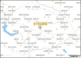 map of Strubno