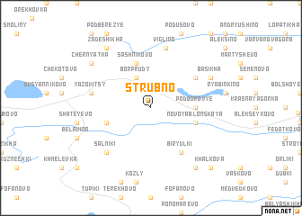 map of Strubno