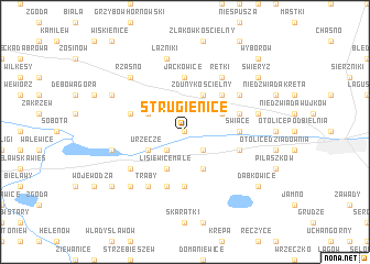 map of Strugienice
