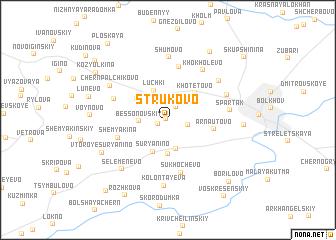 map of Strukovo