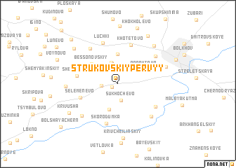 map of Strukovskiy Pervyy