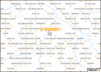 map of Strumiany