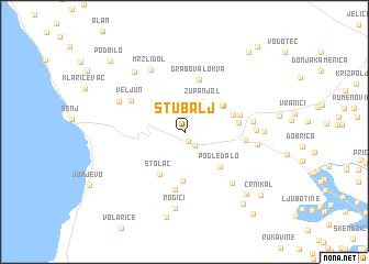 map of Stubalj