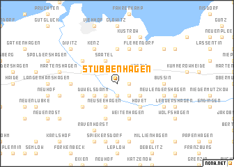 map of Stubbenhagen