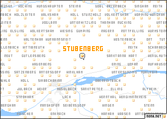 map of Stubenberg