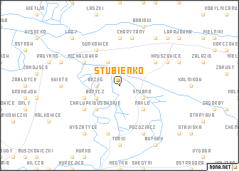 map of Stubienko