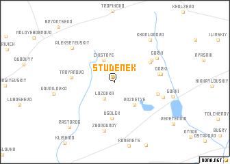 map of Studenek