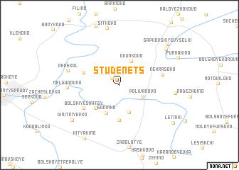 map of Studenets