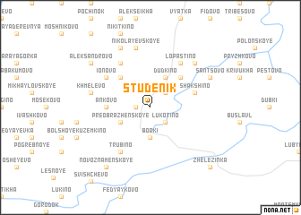map of Studenik