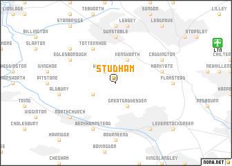 map of Studham