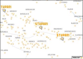 map of Stupari