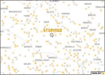 map of Stupin Do